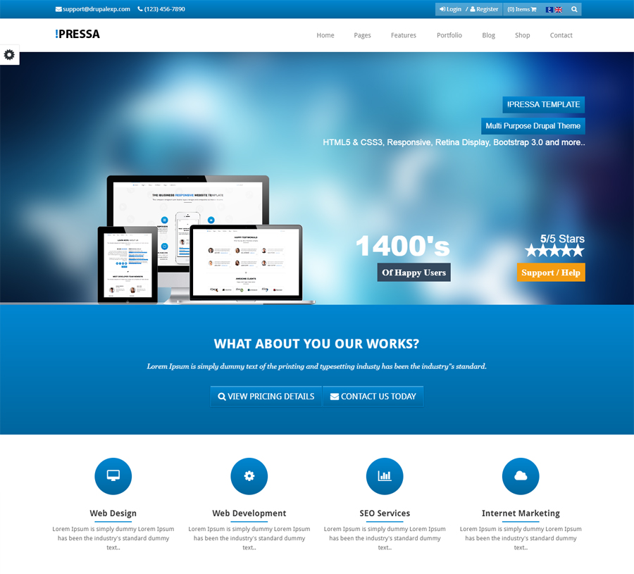 Pressa Theme Preview 02